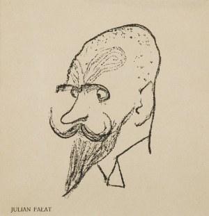 Kazimierz SICHULSKI (1879-1942), Zestaw 4 karykatur, 1904