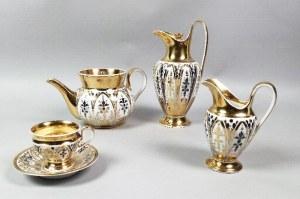 Królewska Manufaktura Porcelany w Berlinie (KPM), Serwis do herbaty (kawy) w stylu biedermeier