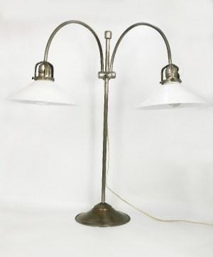 Lampa na biurko dwuramienna, elektryczna