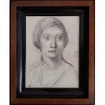 Ludomir Slendziński (Slendziński, Ślendziński, Śleńdziński) (1889-1980), Portret kobiety (1918)