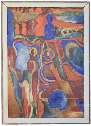 Marek Włodarski (Henryk Streng) (1903-1960), Gra Kręgle (1954)