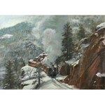 Małgorzata Gidel (ur. 1995 r.), Winter train, 2020 r.