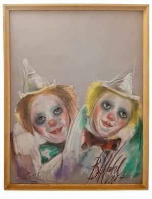 Bożena Wahl, Dwa klauny (1985)