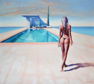 Rafał Knop, Madame V Angel 16 z serii Swimming Pool, 2021