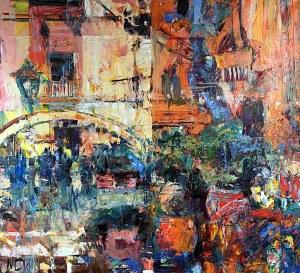 Krzysztof Ludwin, Z cyklu Art deco, Caltagirone, Sycylia i dusza rozdarta na dwoje, 2020