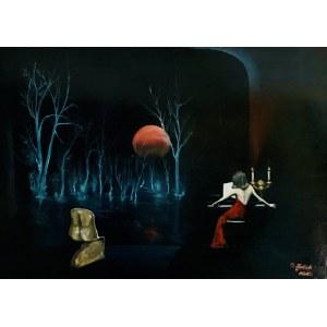 Grażyna Jeżak, Muzyka nocą, 2020