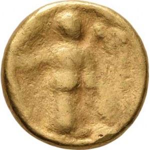 Střední Evropa, Bójové, 2. - 1. stol. př.Kr., Silně barizovaný statér typu Aténa-Alkis, 16mm,
