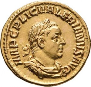 Řím, Valerianus I., 253 - 260, Aureus, Rv: