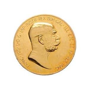 František Josef I., 1848 - 1916, 100 Koruna 1908 - jubilejní (pouze 16.000 ks),