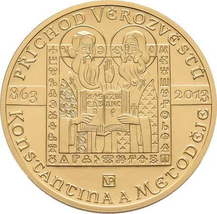 Česká republika, 1993 -, 10000 Koruna 2013 - Konstantin a Metoděj, KM.143
