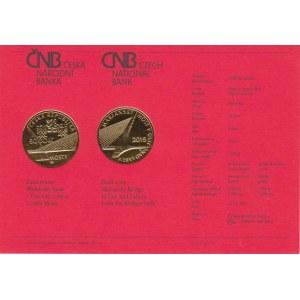 Česká republika, 1993 -, Karta (certifikát) pro minci 5000 Kč 2015 - Mariánský
