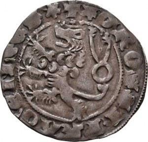 Karel IV., 1346 - 1378, Pražský groš, Ve.1, Pinta.I.a/1 - kroužek za KAROLVS,
