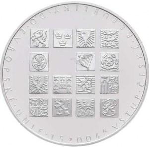 Česká republika, 1993 -, 200 Kč 2004 - vstup do EU, KM.71 (Ag900, 13.00g,