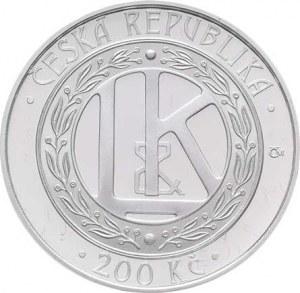 Česká republika, 1993 -, 200 Kč 2005 - automobil Laurin a Klement, KM.79