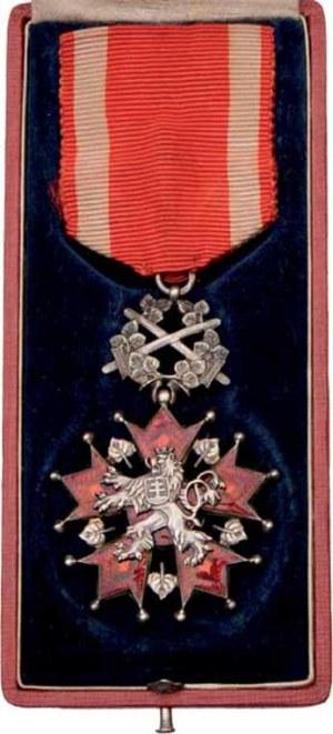 Československo, Řád Bílého lva - vojen. skupina - 5.třída, VM.9-a-E,