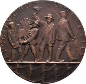 Šejnost Josef, 1878 - 1941, Vyhlášení Republiky 28.X.1918 (raženo 1919) - lidé