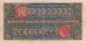 Československo - státovky II. emise, 50 Koruna 1922, série 049, BHK.19a, He.19a