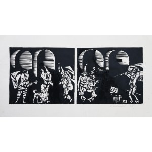 Andrzej Kurkowski, Scena z Don Kichota, 1967 r.