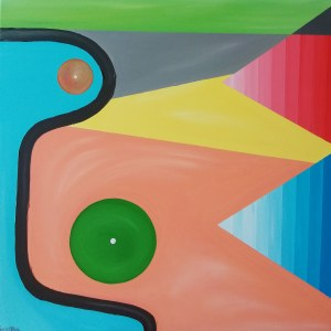 Tobiasz Kenio (ur. 1979), Abstrakcja nie ma związku z aktem - 3, 2020