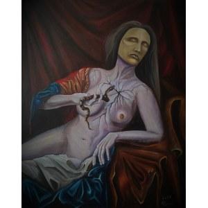 Mikołaj Korus (ur. 1998), Śmierć cnót, 2021
