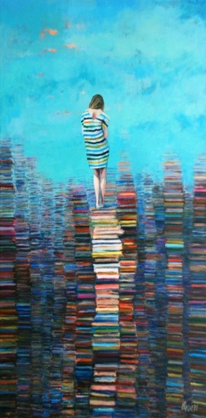 Katarzyna Orońska, El mundo del libro, 2017