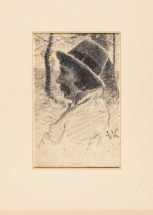Kochanowski Roman (1857-1945), Portret chłopa podkrakowskiego, przełom XIX i XX wieku