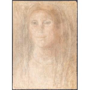 Kulisiewicz Tadeusz (1899 - 1988), Portret kobiety ze Szlembarku, 1939