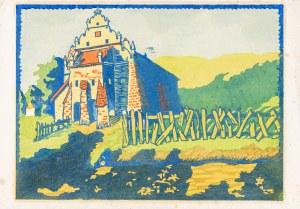 Bielecki Władysław (1896-1942), Spichlerz w Kazimierzu nad Wisłą, 1925