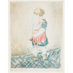 Hrynkowski Jan (1891 - 1971), Mała dziewczynka, 1923