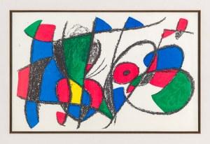 Miró Joan (1893-1983), Kompozycja I, 1972