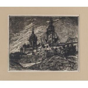Rubczak Jan (1884-1942), Zamek Królewski na Wawelu, ok. 1913