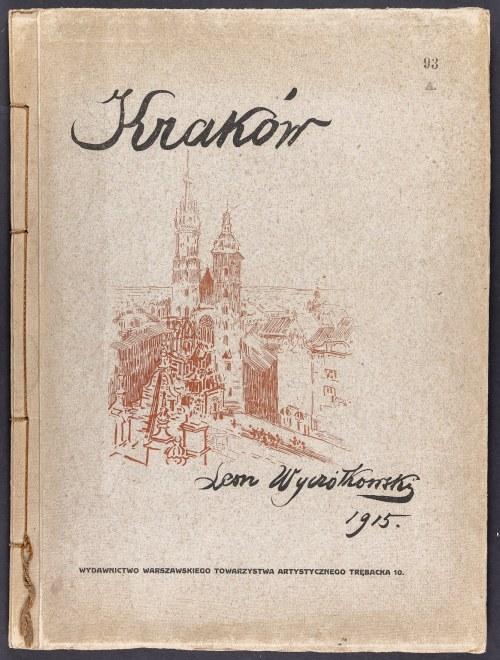 Wyczółkowski Leon (1852-1936), Kraków. 12 Autolitografii kredą i piórem rysował…, 1915