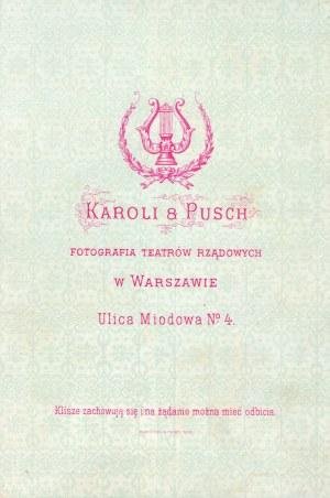 Aleksander Karoli i Maurycy Pusch (atelier Karoli Pusch) - Ulica Miodowa w Warszawie...