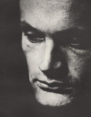 Zdzisław Beksiński - bez tytułu [portret mężczyzny], [ca] 1958. Vintage print...
