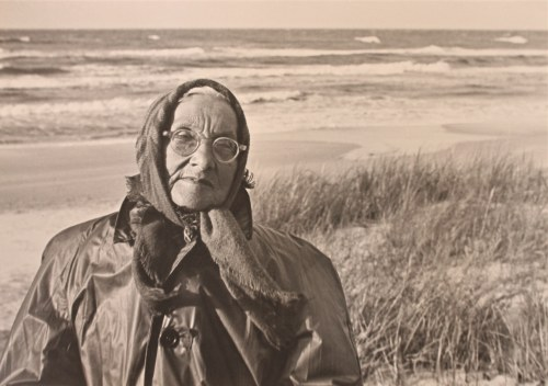 Eugeniusz Haneman - Jesienny portret [matka], 1962. Life time print. Pieczęć i opis autorski na rewersie...