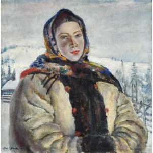 Władysław JAROCKI (1879-1965), Hucułka w słońcu, 1937