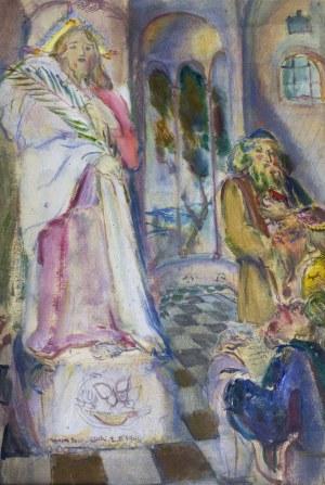 Kasper POCHWALSKI (1899-1971), Objawienie Pańskie, 1941