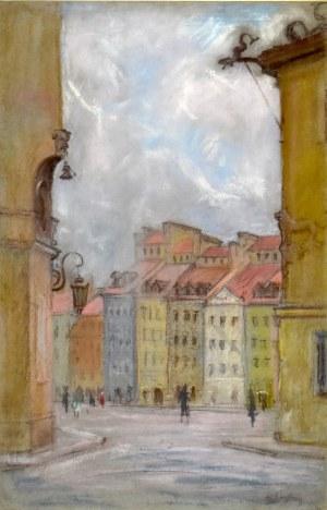 Władysław SERAFIN (1905-1988), Rynek Starego Miasta w Warszawie
