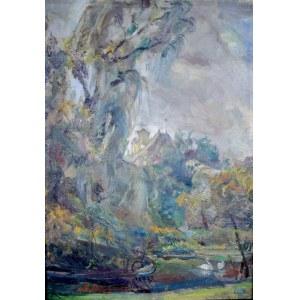 Kasper POCHWALSKI (1899-1971), Pożegnanie z latem, 1952