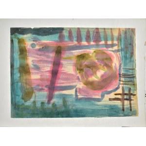 Krystyna PELLETIER (1914-2007), Kompozycja abstrakcyjna