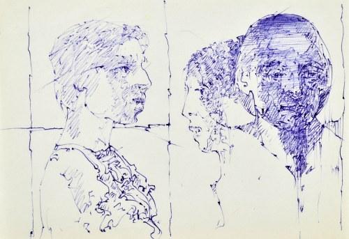 Roman BANASZEWSKI (1932-2021), Szkice popiersia