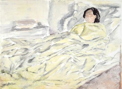 Leopold GOTTLIEB (1883-1934), Śpiąca kobieta