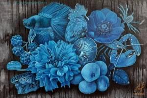 Olena Lytvinienko , Nature is blue