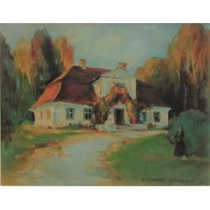 Bronisława Rychter-Janowska (1868-1953) , Przed dworkiem
