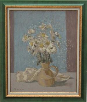 Bencion(Benn) Rabinowicz (1905-1989) , Białe stokrotki z