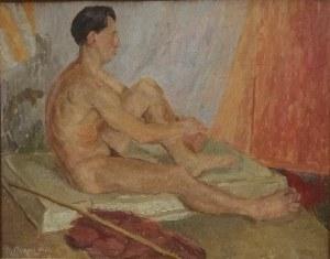 Wanda Czuryło , Akt , 1950