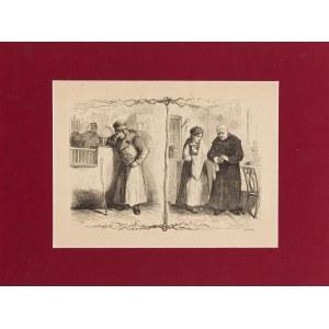 Feliks Kostrzewski (1826-1911), Po małżeńskiej scenie, 1893