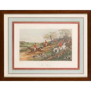 Henry Thomas Alken (1785-1851), John Harris (1791-1873), The Burst, przed 1900