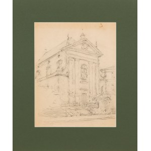 Tadeusz Cieślewski (1870-1956), Kościół Przemienienia Pańskiego (Kapucynów) w Warszawie