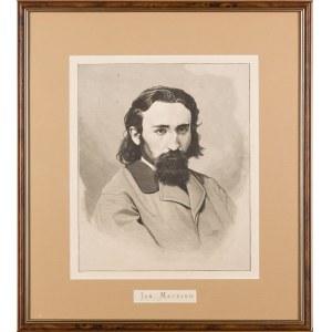 Floryan CYNK (1838-1912), Portret Jana Matejki, 1874-1876
